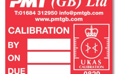 Custom calibration labels for your business